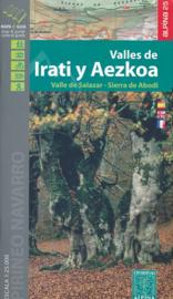 Wandelkaart Irati - Valles de Aezkoa (E25) |  Editorial Alpina | 1:25.000  | ISBN 9788480906685