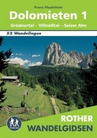 Wandelgids Dolomieten 1 - Val Gardena, Villnosstal - Seiser Alm | Elmar | ISBN 9789038921303