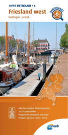 Fietskaart Friesland West   ANWB 6   1:66.666    ISBN 9789018047078