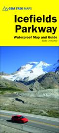 Wegenkaart  Best of the Icefields Parkway No. 5   GEM Trek   1:400.000   ISBN 9781895526974