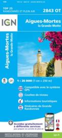 Wandelkaart Aigues - Mortes - La Grande Motte | Languedoc | IGN 2843OT - IGN 2843 OT | ISBN 9782758543190