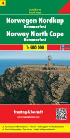 Wegenkaart Noorwegen | Freytag & Berndt Noorwegen Noordkaapregio | ISBN 9783707904659