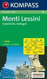 Wandelkaart Monte Lessini | Kompass 100 | 1:50.000 | 9783854914167