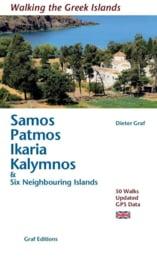 Wandelgids Samos, Patmos, Ikaria, Kalymnos   Graf Verlag   ISBN 9783981404760