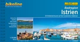Fietsgids Kroatië - Istrië | Bikeline | 820 km. | ISBN 9783850006163