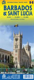 Wegenkaart - landkaart Barbados | ITMB | 1:40.000 | ISBN 9781771290937