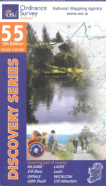 Wandelkaart Ordnance Survey / Discovery series | Kildare / laois / Offaly / Wicklow 55 | ISBN 9781908852946