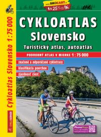 Fietsatlas - wegenatlas Slowakije : Slovensko Cykloatlas | Shocart | 1:75.000 | ISBN 9788072247813
