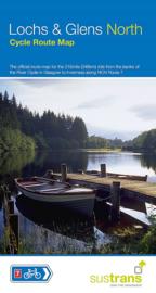 Fietskaart Lochs & Glens North | Sustrans | 1:110.000 | ISBN 9781910845479