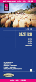 Wegenkaart Sicilië - Sizilien | Reise Know How | ISBN 9783831773206