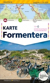 Wegenkaart - toeristische Kaart Formentera | Triangle Postals | 1:35.000 | ISBN 9788484783954
