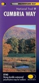 Wandelkaart Cumbria Way | Harvey | 1:40.000 |  ISBN 9781851374243