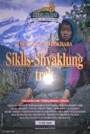 Wandelkaart Siklis Shyaklung trek | Nepa Maps | 1;50.000 | 9799993323098