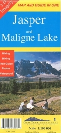 Wandel - Wegenkaart Jasper & Maligne Lake map | GEM Trek nr. 1 | 1:100.000 | ISBN 9781895526233