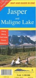 Wandel - Wegenkaart Jasper & Maligne Lake map | GEM Trek nr. 1 | 1:100.000 | ISBN 9781895526233