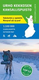 Wandelkaart Kekkosen Kansallispuisto | Karttakeskus - Genimap | 1:100.000 | ISBN 9789515934673