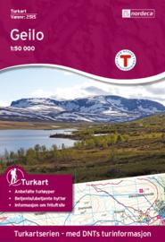 Wandelkaart Geilo 2515 | Nordeca | 1:50.000 | ISBN 7046660025154