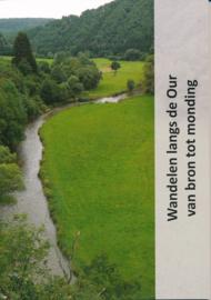 Wandelgids Wandelen langs de Our van bron tot monding   Jan Veltkamp   ISBN 9789081946759