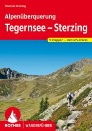 Wandelgids Alpenüberquerung Tegernsee - Sterzing | Rother | ISBN 9783763345656