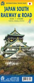 Wegenkaart South Japan | 1:670.000 | ITMB | ISBN 9781771293891