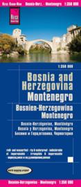 Wegenkaart Bosnië-Herzegovina - Montenegro | Reise Know How | 1:350.000 | ISBN 9783831773343