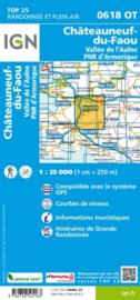 Wandelkaart 0618 OT - 0618OT Châteauneuf-du-Fao, Vallée l'Aulne - PNR Armorique | Bretagne | ISBN 9782758545163