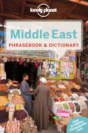Taalgids Middle East Phrase Book - Midden Oosten | Lonely Planet | ISBN 9781741791396