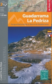 Wandelkaart Guadarrama - La Pedriza | Editorial Alpina | 1:25.000 | ISBN 9788480905664