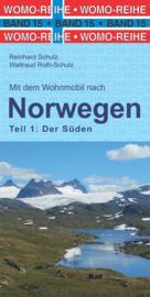 Campergids Noorwegen Zuid - Süd Norwegen | WOMO 15 | ISBN 9783869031507