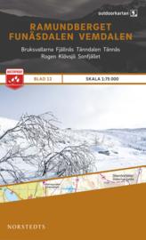 Wandelkaart Ramundberget / Funasdalen / Vemdalen | Norsteds 12 | ISBN 9789113068251