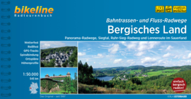 Fietsgids Flüsse und Bahntrassen Bergisches Land - 550 km. | Bikeline | ISBN 9783850008563