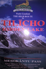 Wandelkaart Tilicho - The hidden Lake | Nepa Maps | 1:125.000 | 9799993323173