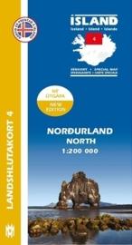 Wegenkaart - Fietskaart Nordurland / Noord IJsland 04 | 1:200 000 | Mal og menning | ISBN 9789979333791