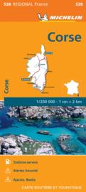 Wegenkaart  Corsica 2021 | Michelin 17528 | 1:200.000 | ISBN 9782067249813