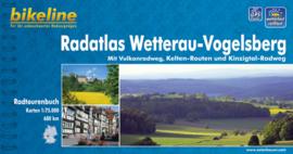 Afgeprijsd - Fietsgids Wetterau, Vogelsberg Radatlas - 680 km. | Bikeline | ISBN 9783850001724