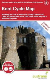 Fietskaart Cycle City Guide nr. 08 | Kent Cycle Map  | 1:110.000 | ISBN 9781900623292