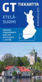 Fiets - Wegenkaart Etelä - Suomi GT 1 | Karttakeskus | 1:250.000 | ISBN 9789522665454