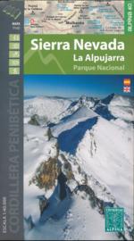 Wandelkaart Sierra Nevada & La Alpujarras | Editorial Alpina | 1:40.000 | ISBN 9788480908177