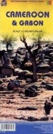 Wegenkaart Gabon & Cameroun | ITMB | 1:1,5 miljoen | ISBN 9781553411574
