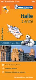 Wegenkaart Italie Centre | Michelin 563 | 1:400.000 | ISBN 9782067183995