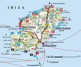 Wandelgids Ibiza   Rother Verlag   ISBN 9783763342600