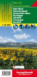 Wandelkaart Hohe Wand, Schneebergland, Gutensteiner Alpen, Piestingtal, Lilienfeld, Triestingtal, Berndorf | Freytag & Berndt 012 | ISBN 9783850843201