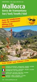 Wandelkaart Mallorca, Serra de Tramuntana Zuid | Public Press | ISBN 9783747304280