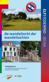 Wandelgids Elfstedenpad - de wandeltocht der wandeltochten | NIVON - LAW 19 | ISBN 9789492641014