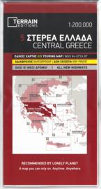 Fiets- & Wegenkaart Centraal  Griekenland 5 | Terrain Maps | ISBN 9789609456272