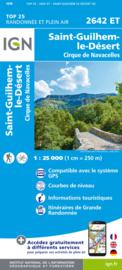 Wandelkaart St.-Guilhem-le-Desert, Cirque de Navacelles | Cevennen - Languedoc | IGN 2642ET - IGN 2642 ET | ISBN 9782758546559