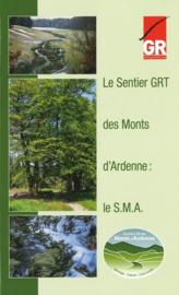 Wandelgids Le Sentier GRT des Monts d'Ardenne SMA   GR Sentiers (9782930488240)
