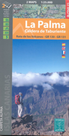 Wandelkaart La Palma | Editorial Alpina  | 1:50.000 | ISBN 9788480906876