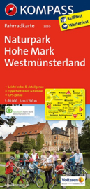 Fietskaart Münsterland, Hohe Mark | Kompass 3050 | 1:70.000 | ISBN 9783850262934