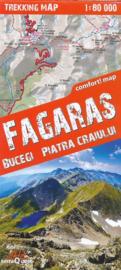 Wandelkaart Fagaras | TerraQuest | 1:80.000 | ISBN 9788361155133